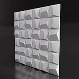 "Форма для 3Д панелей Pixus 3D""Cliff"" 50 x 50 x 2 см, фото 3"