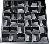 "Форма для 3Д панелей Pixus 3D""Cliff"" 50 x 50 x 2 см, фото 4"