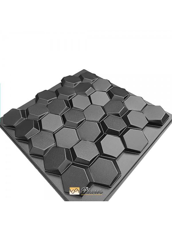 """Пластиковая форма для изготовления 3d панелей """"Соты"""""""