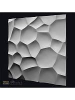 """Пластиковая форма для изготовления 3d панелей """"Shell"""" 50*50, фото 1"""