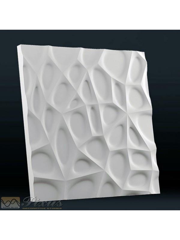 """Пластиковая форма для изготовления 3d панелей """"Паутина"""" 50*50"""