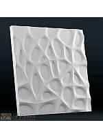 """Пластиковая форма для изготовления 3d панелей """"Паутина"""" 50*50, фото 1"""