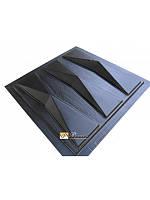 """Пластиковая форма для изготовления 3d панелей """"Оригами"""", фото 1"""