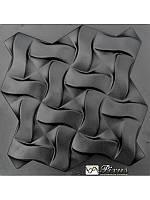 """Пластиковая форма для изготовления 3d панелей """"Плетенка"""" 50*50, фото 1"""