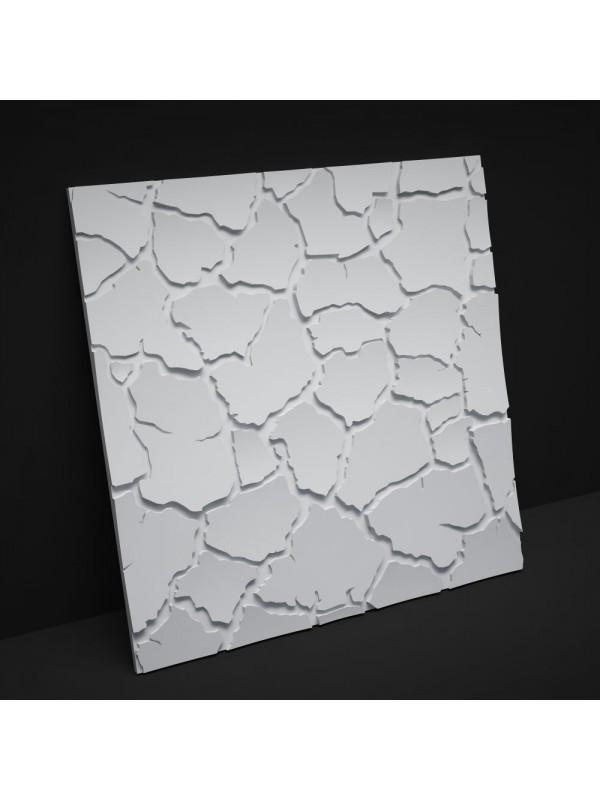 """Пластиковая форма для изготовления 3d панелей """"Сахара"""" 50*50"""