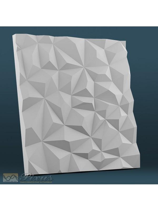 """Пластикова форма для виготовлення 3d панелей """"Кристали"""" 50*50"""