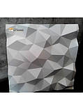 """Пластикова форма для виготовлення 3d панелей """"Кристали"""" 50*50, фото 4"""