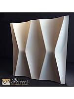 """Пластиковая форма для изготовления 3d панелей """"Талия"""" 50*50, фото 1"""