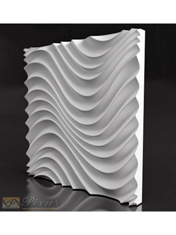 """Пластиковая форма для изготовления 3d панелей """"Санта-Лючия"""" 50*50"""