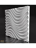 """Пластиковая форма для изготовления 3d панелей """"Санта-Лючия"""" 50*50, фото 1"""