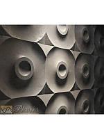 """Пластиковая форма для изготовления 3d панелей """"Круги"""" 50*50, фото 1"""