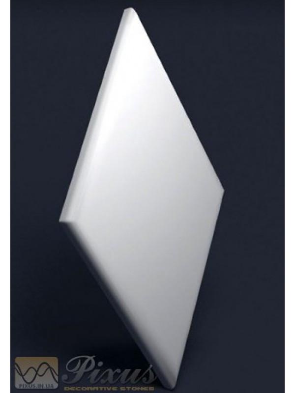 """Пластиковая форма для изготовления 3d панелей """"Ромб"""" 620*330 мм"""