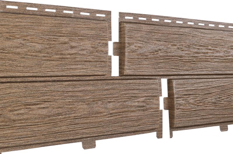 Фасадные панели U-Plast Hokla лиственница (медовая)