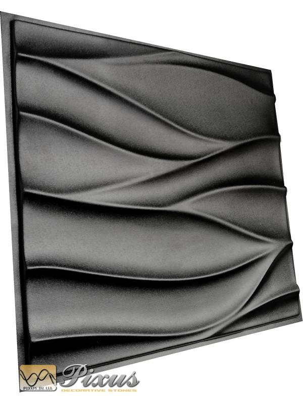 """Пластиковая форма для изготовления 3d панелей """"Бутон"""" 50*50 см"""