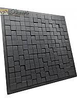"""Пластиковая форма для изготовления 3d панелей """"Cube"""" 50*50 см"""