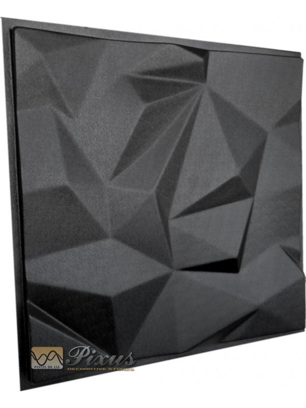 """Пластиковая форма для изготовления 3d панелей """"Гранада"""" 50*50 см"""