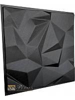 """Пластиковая форма для изготовления 3d панелей """"Гранада"""" 50*50 см, фото 1"""