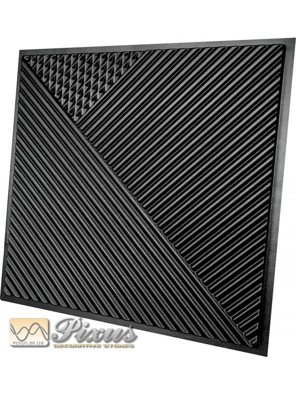 """Пластиковая форма для изготовления 3d панелей """"Поля"""" 50*50 см"""