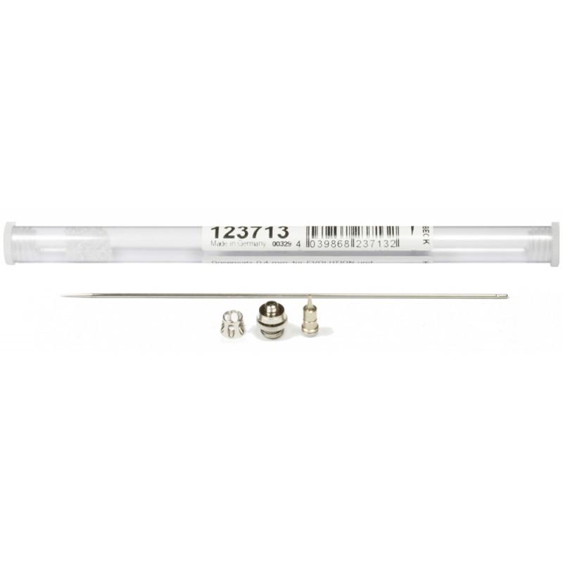 Распылительный комплект сопло+игла Harder&Steenbeck Nozzle set 0.4mm