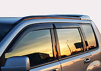 Дефлектори вікон (вітровики) Mitsubishi Pajero Pinin (3-двер.)(2000-2005), Cobra Tuning, фото 1
