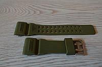 Ремешок на часы Skmei 1385 зеленый БЕЗ НАЛОЖКИ!, фото 1