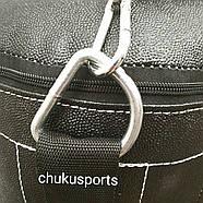 Боксёрская груша кирза, высота: 1400 мм,  вес: 45 кг, в комплекте с цепью, фото 3