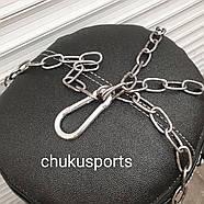 Боксёрская груша кирза, высота: 1400 мм,  вес: 45 кг, в комплекте с цепью, фото 5