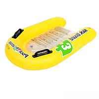 Intex 58167, надувной плотик-доска Swim Trainers, 79x76 см, фото 1