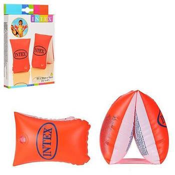"""Intex Нарукавник 58641 NP """"Люкс"""" для детей с 3-х лет, размером 30х15см"""