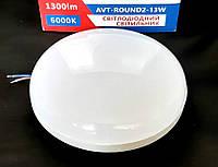 Светильник LED накладной 13W IP44 1300Lm Avaton светодиодный круглый, фото 1