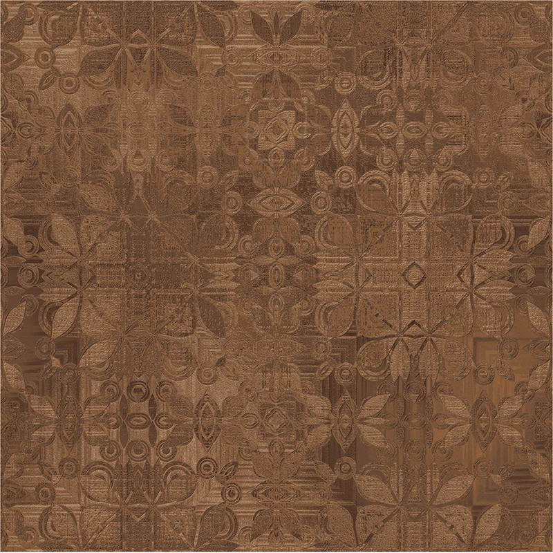 Кахель д/підлоги АПОЛЛО  43х43 темно-коричневий  032