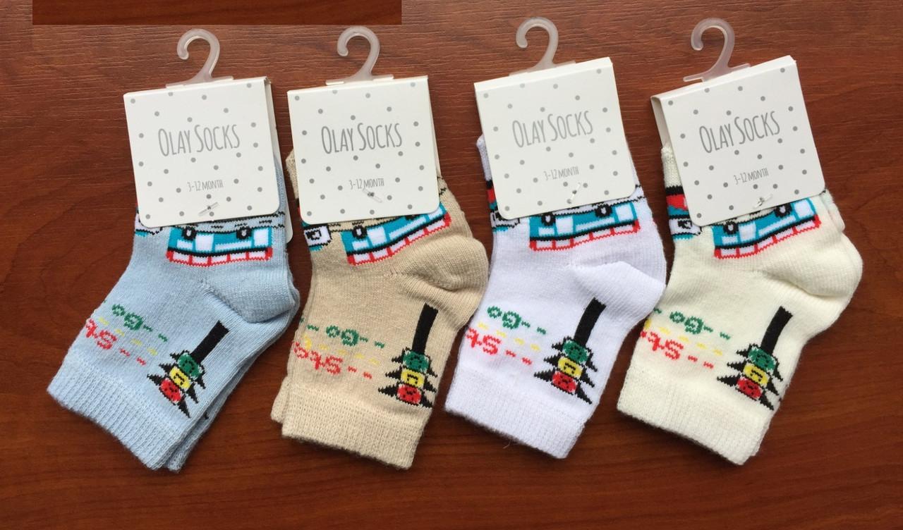 Бавовняні шкарпетки для малюків 18-24 міс ТМ Olay 54896827821561
