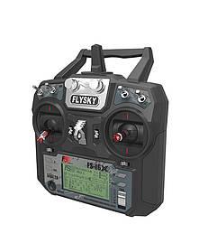 Аппаратура управления 10-канальная FlySky FS-I6X AFHDS 2A с приёмником IA6B