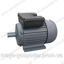 Электродвигатель 3 кВт,1400 об/мин.220V,мотор однофазний 3 квт