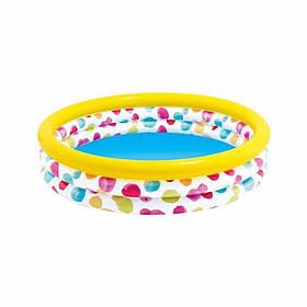 """Дитячий надувний басейн """"Райдужна хвиля"""" Intex 58449"""