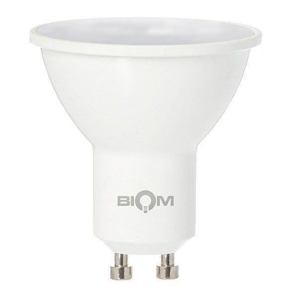 Світлодіодна лампа MR16 7W GU10 4500К матова Biom BT-572