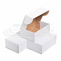 Картонная коробка 310х220х120 белая. Коробка формата А4., фото 1