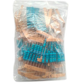 300x Резистор 2Вт MF 1% 10Ом-1МОм, набор