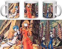 Кружка чашка Evangelion