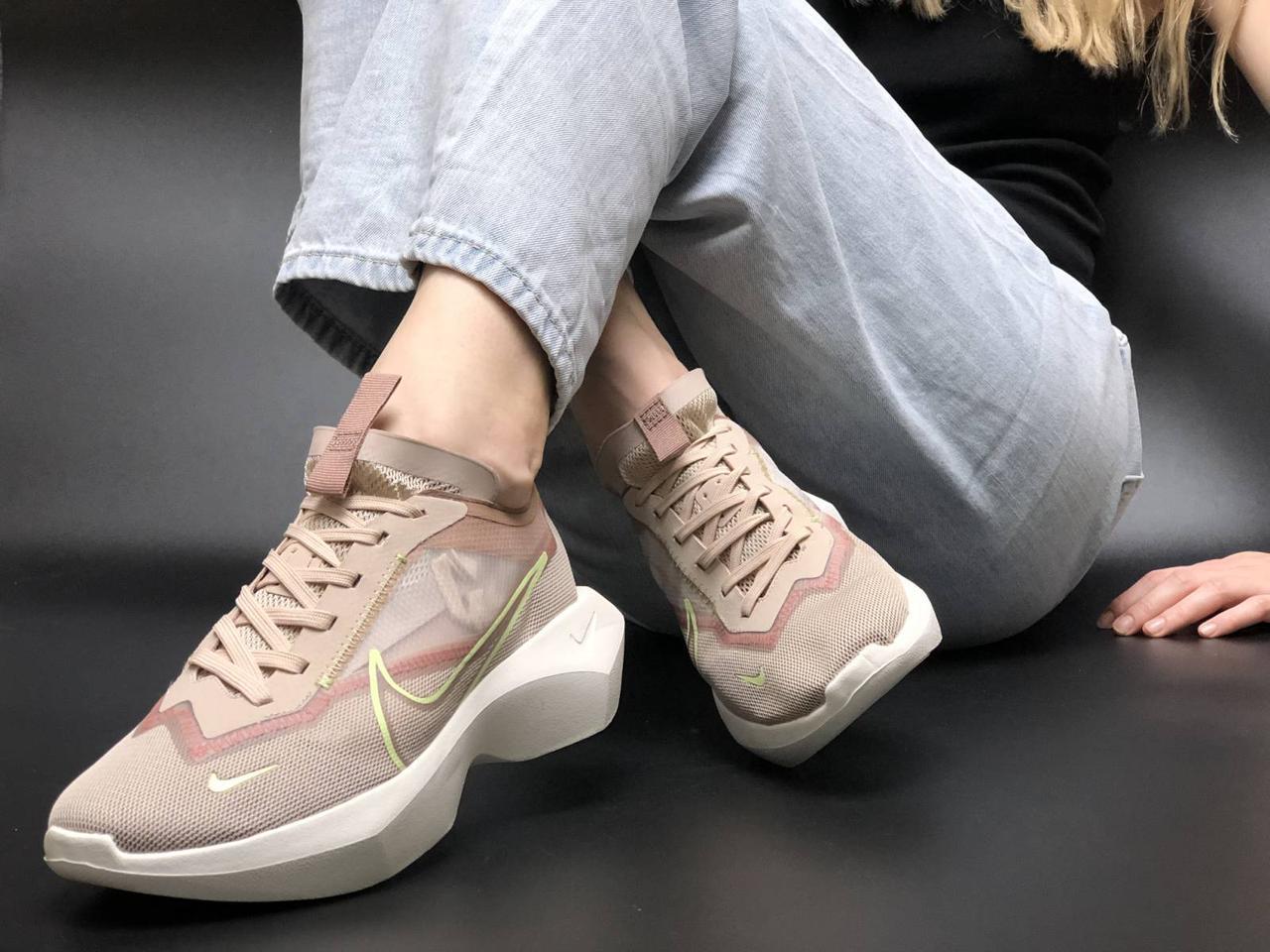 Женские кроссовки Nike Vista biege. [Размеры в наличии: 36,38]