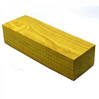 Брусок для рукоятки ножа древесина Скумпия 135х30х40
