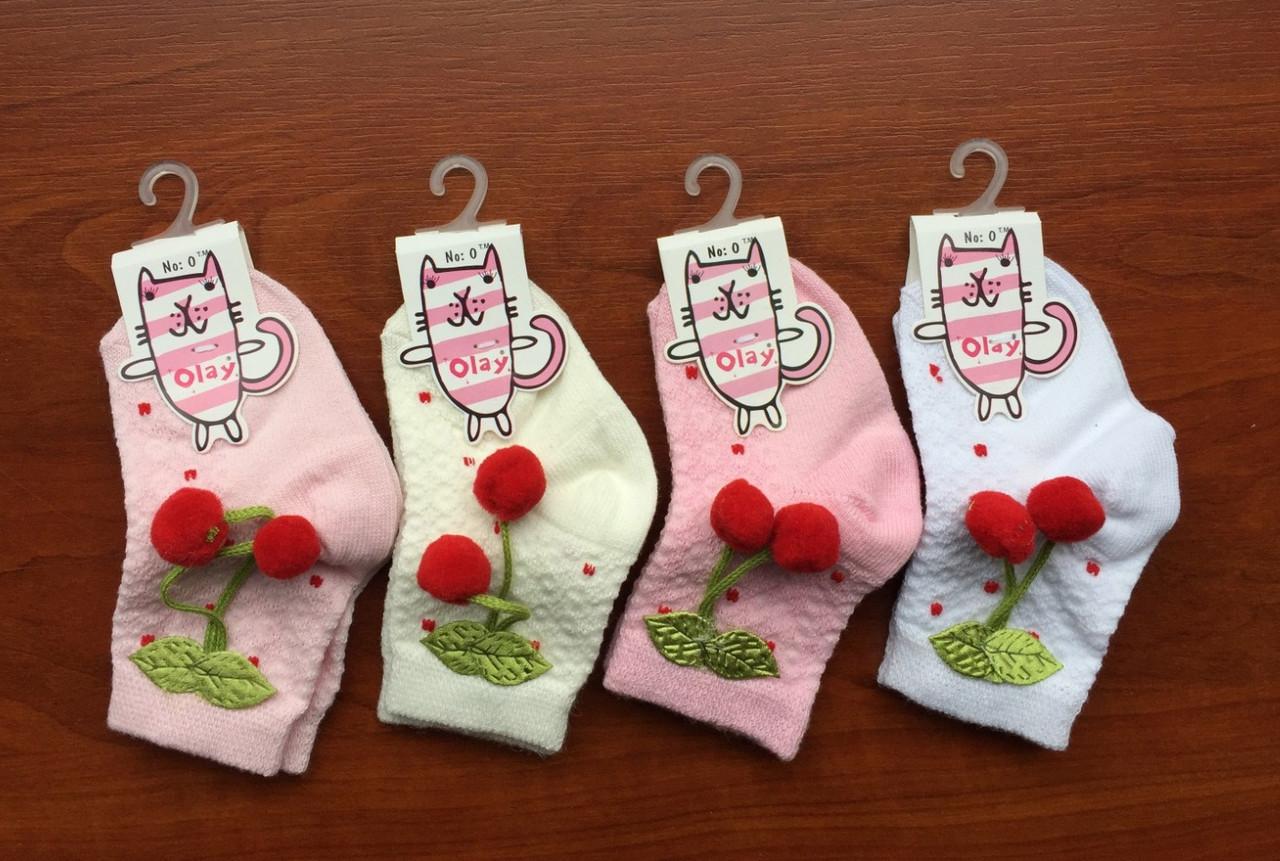 Хлопковые носки для девочек, размер 1: (1-2 года) ТМ Olay 54396887821961