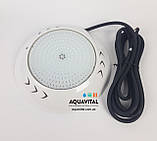 Прожектор светодиодный Aquaviva LED003–252LED (18 Вт) RGB / бетон / лайнер, фото 8