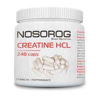 Nosorog Creatine HCl, 240 капсул