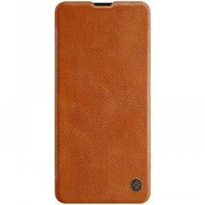 Nillkin Samsung Galaxy A71 Qin leather case Brown Чехол Книжка