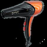 Профессиональный фен для волос GEMEI GM-1766 2600 Вт, фото 2