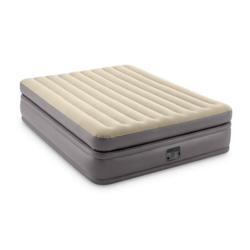 Велюр надувна ліжко з вбудованим ел насосом 220В