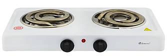 Настольная электроплита Domotec MS-5532 White (большая спираль) (4790)