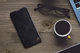 Nillkin Samsung Galaxy A31 Qin leather case Black Чехол Книжка, фото 5
