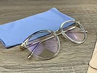 Модні іміджеві / комп'ютерні окуляри для оптики в пластиковій оправі
